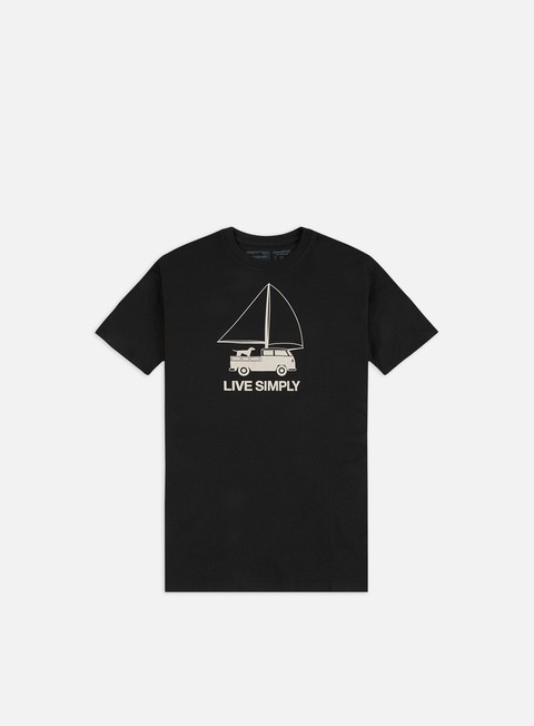 Sale Outlet Short Sleeve T-shirts Patagonia Live Simply Wind Powered Responsibili-Tee T-shirt
