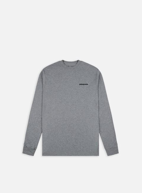 Long Sleeve T-shirts Patagonia P-6 Logo LS Responsibili-Tee T-Shirt