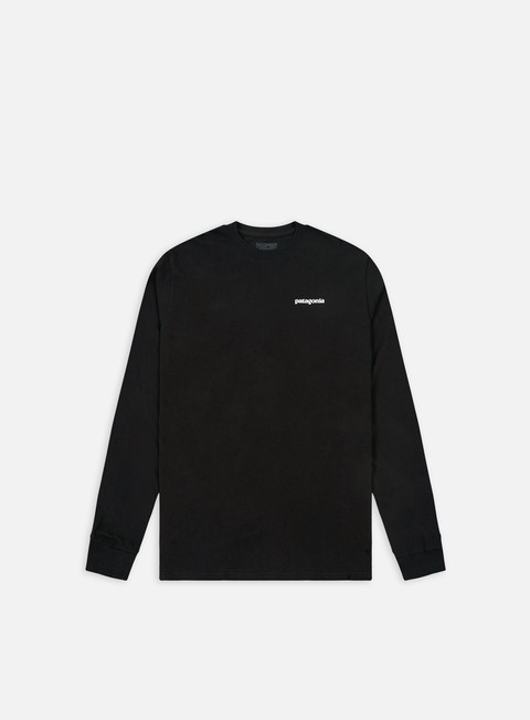 Long Sleeve T-shirts Patagonia P-6 Logo LS T-shirt