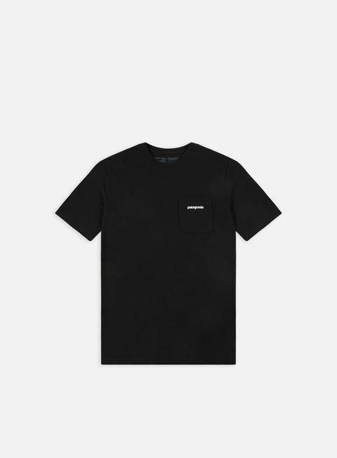 t shirt patagonia p 6 logo pocket responsibili t shirt black