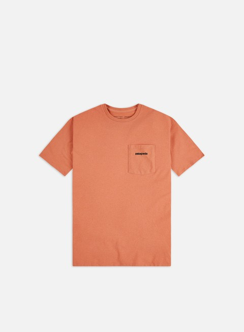 T-shirt Pocket Patagonia P-6 Logo Pocket Responsibili-Tee T-shirt