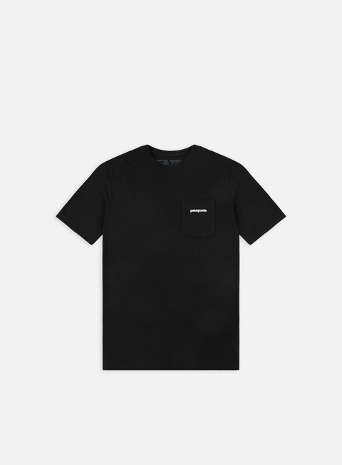 t shirt patagonia p 6 logo pocket responsibilitee t shirt black