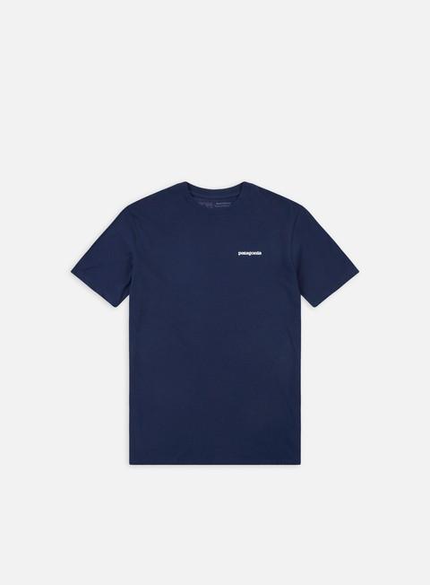 t shirt patagonia p 6 logo responsibili t shirt classic navy