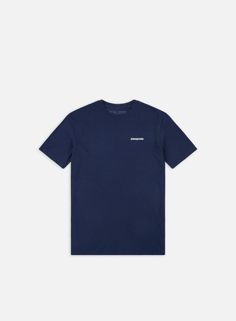 t shirt patagonia p 6 logo responsibilitee t shirt classic navy