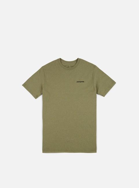 t shirt patagonia p 6 logo t shirt responsabili crag green