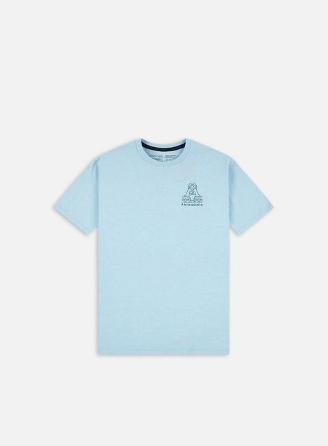 T-shirt a Manica Corta Patagonia Peak Protector Badge Responsibili-Tee T-shirt
