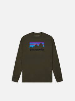 Patagonia - Shop Sticker ResponsabiliTee LS T-shirt, Sediment