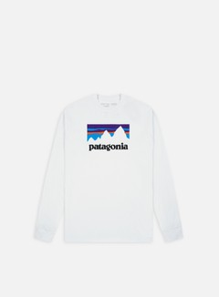 Patagonia - Shop Sticker ResponsabiliTee LS T-shirt, White