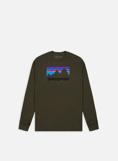 Sale Outlet Long Sleeve T-shirts Patagonia Shop Sticker Responsibili-Tee LS T-shirt