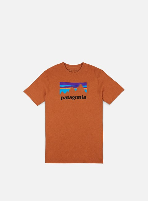 Outlet e Saldi T-shirt a Manica Corta Patagonia Shop Sticker Responsibili-Tee T-shirt