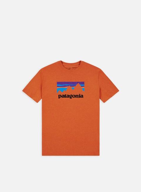 Short Sleeve T-shirts Patagonia Shop Sticker Responsibili-Tee T-shirt