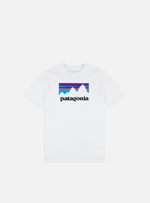 Short Sleeve T-shirts Patagonia Shop Sticker Responsibili-Tee T-shirt
