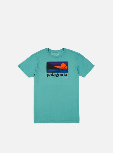 t shirt patagonia up e out t shirt beryl green