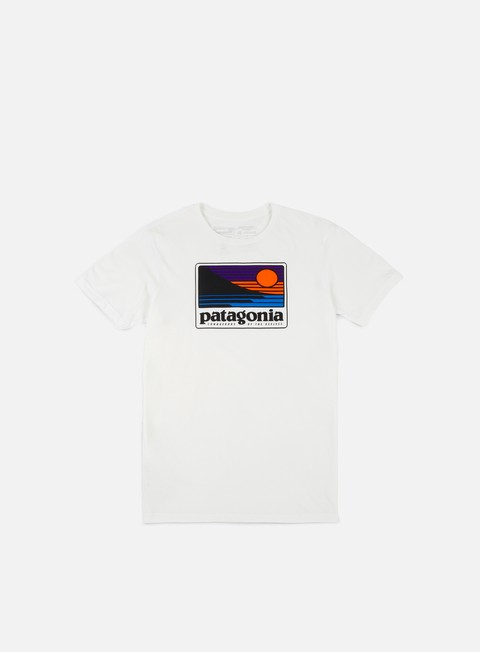 t shirt patagonia up e out t shirt white