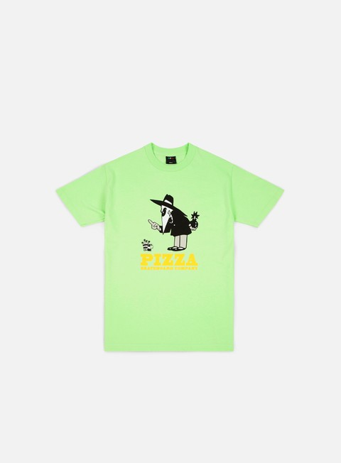 t shirt pizza skateboards western spy t shirt mint