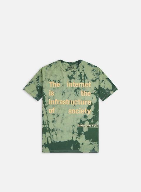 T-shirt tie-dye Pleasures Internet Dyed T-shirt