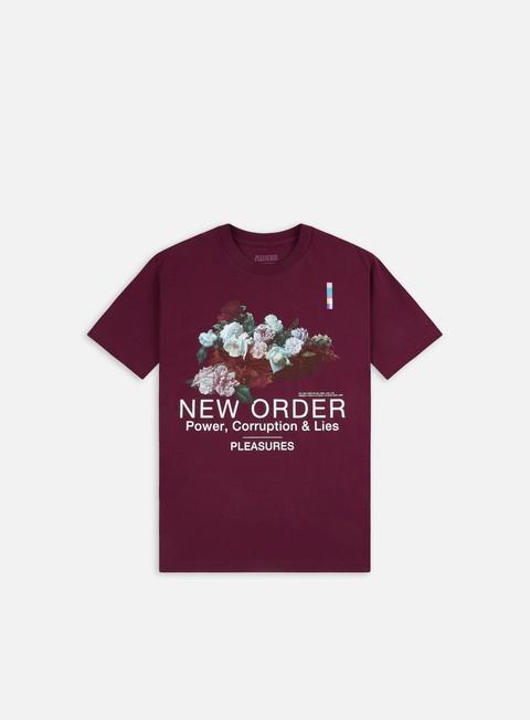 T-shirt a manica corta Pleasures Power T-shirt