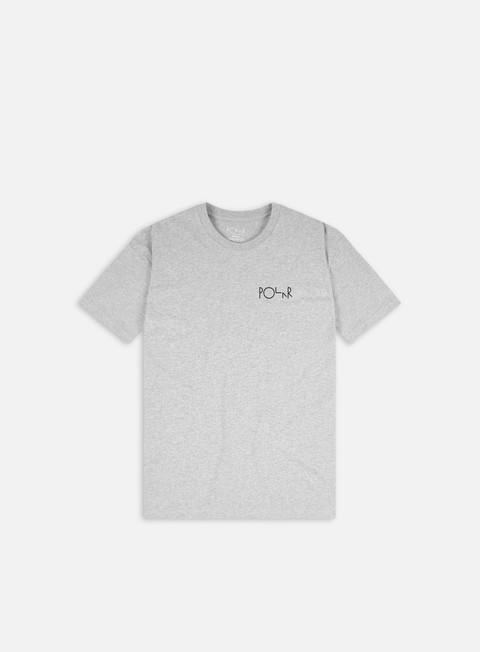 Short sleeve T-shirts Polar Skate 3 Tone Fill Logo T-shirt