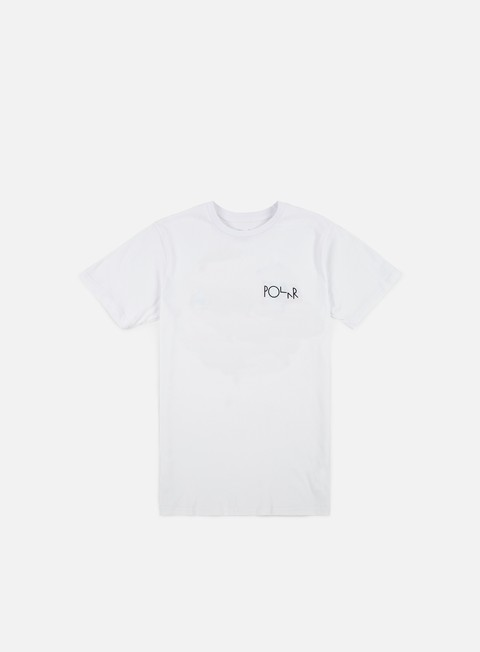 t shirt polar skate ego loss fill logo t shirt white
