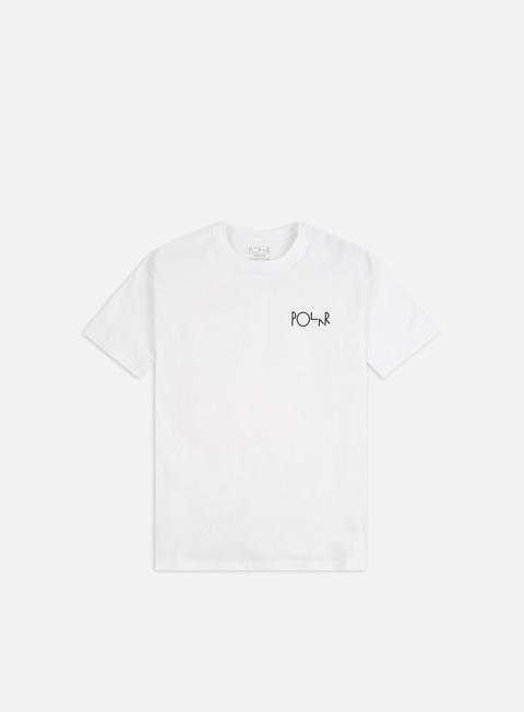 Short Sleeve T-shirts Polar Skate Fill Logo T-shirt
