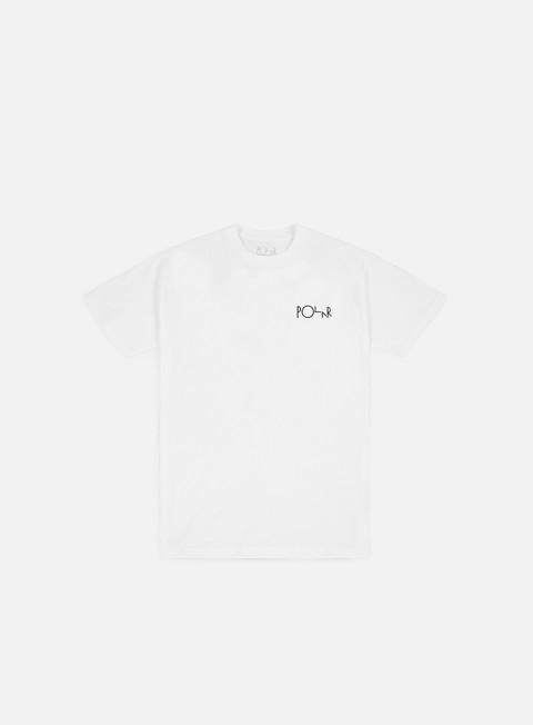 t shirt polar skate lambo life fill logo t shirt white