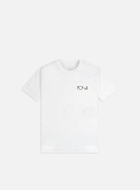 Short Sleeve T-shirts Polar Skate Memory Palace Fill Logo T-shirt