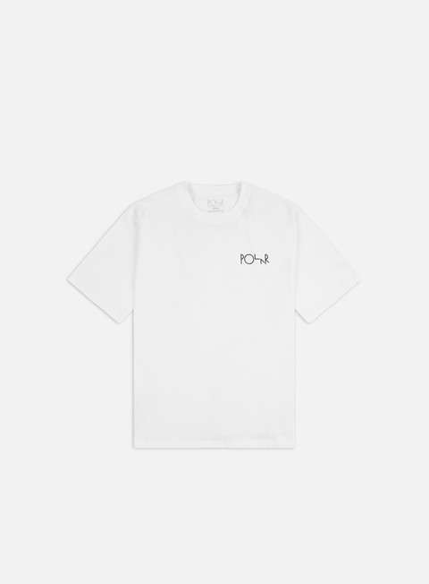 Short Sleeve T-shirts Polar Skate Moth House Fill Logo T-shirt