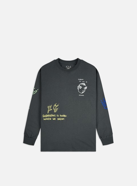Long sleeve T-shirts Polar Skate Notebook LS T-shirt