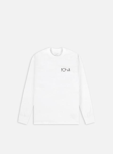 Long Sleeve T-shirts Polar Skate Sequence Fill Logo LS T-shirt