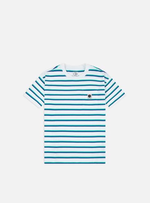 Short Sleeve T-shirts Polar Skate Stripe Pocket T-shirt