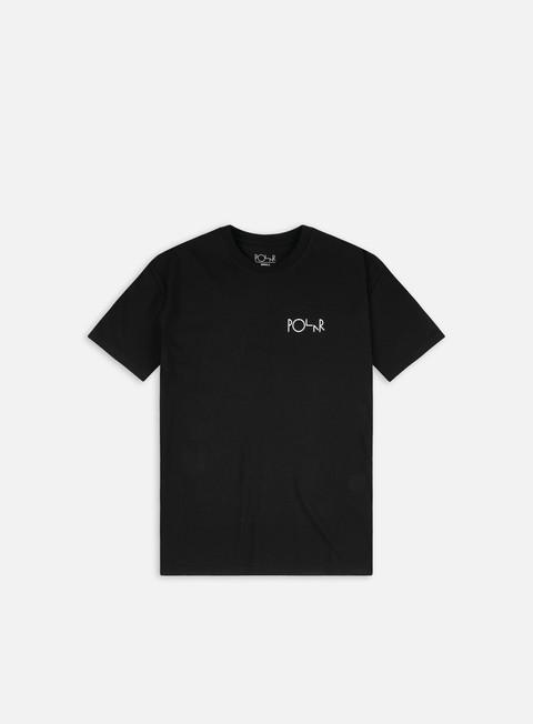 Short sleeve T-shirts Polar Skate Stroke Logo T-shirt