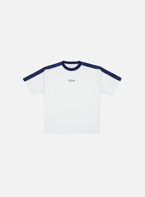 t shirt polar skate tape surf t shirt white navy