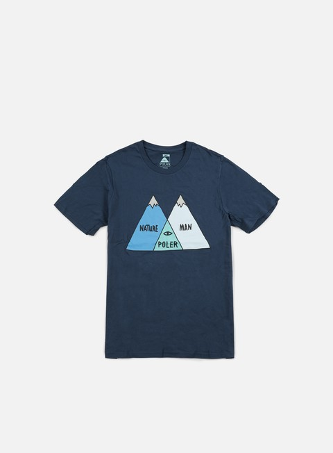 t shirt poler venn t shirt blue steel