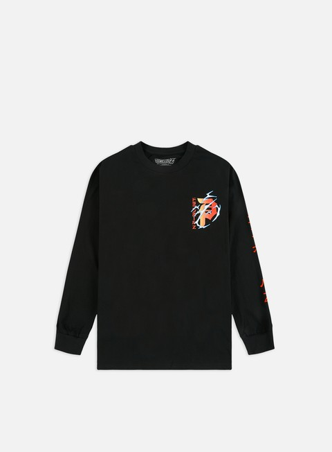 Outlet e Saldi T-shirt a Manica Lunga Primitive Dragon Ball Z Shenron Club LS T-shirt