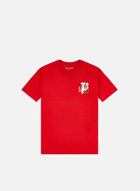 Outlet e Saldi T-shirt a Manica Corta Primitive Dragon Ball Z Shenron Dirty P T-shirt