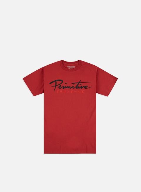 Outlet e Saldi T-shirt a Manica Corta Primitive Dragon Ball Z Shenron Nuevo T-shirt