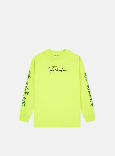 Outlet e Saldi T-shirt a Manica Lunga Primitive Greenhead LS T-shirt