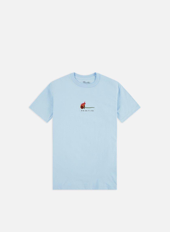 Primitive Heartbreakers Club Burning T-shirt