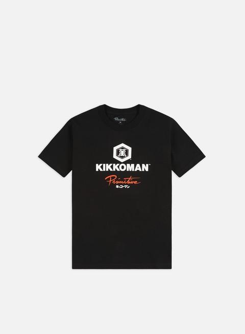Outlet e Saldi T-shirt a Manica Corta Primitive Kikkoman Sauce T-shirt