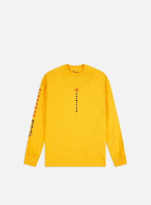 Outlet e Saldi T-shirt a Manica Lunga Primitive Kikkoman Season LS T-shirt