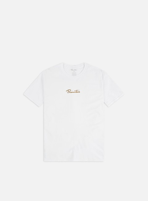 Short Sleeve T-shirts Primitive Nuevo Gold Foil T-shirt
