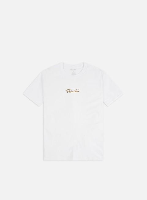 Outlet e Saldi T-shirt a Manica Corta Primitive Nuevo Gold Foil T-shirt
