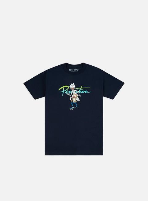 Outlet e Saldi T-shirt a Manica Corta Primitive Rick And Morty Nuevo RnM Skate T-shirt