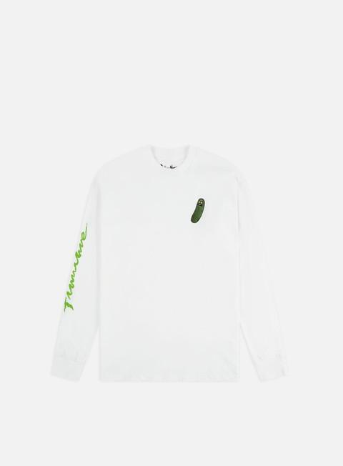 Outlet e Saldi T-shirt a Manica Lunga Primitive Rick And Morty Pickle Rick LS T-shirt