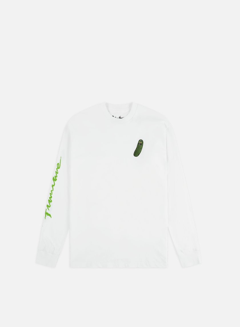 low priced c9cf9 28524 Rick And Morty Pickle Rick LS T-shirt