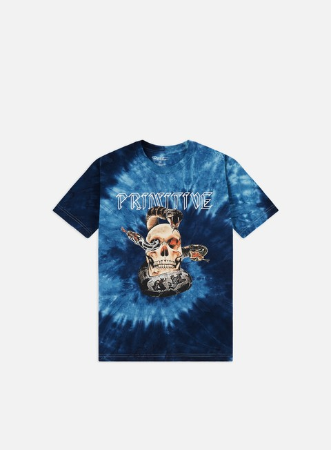 Short Sleeve T-shirts Primitive World Tour Tie Dye T-shirt