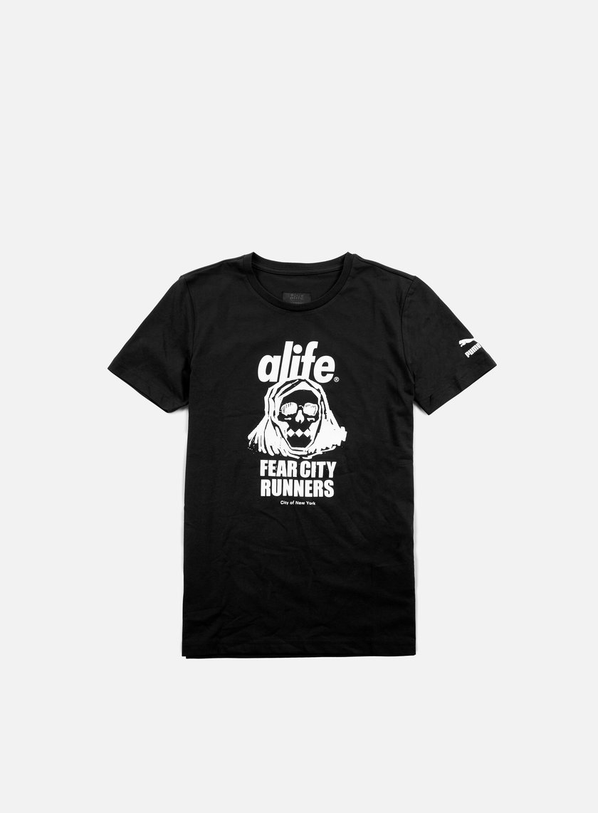 Puma - Alife Olympic Logo T-shirt, Black
