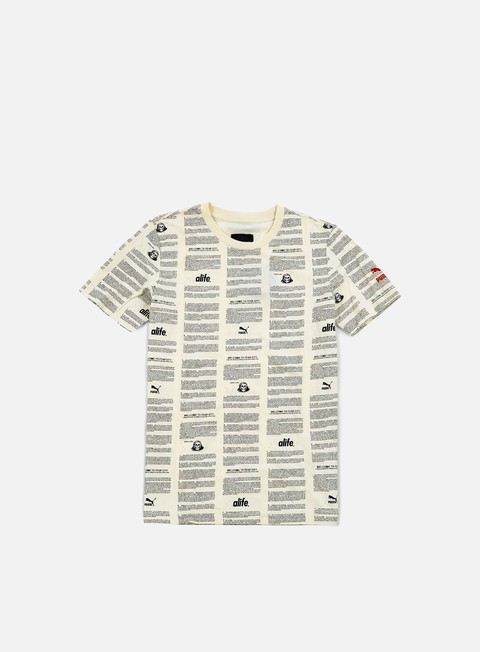 t shirt puma alife olympic running t shirt whisper white