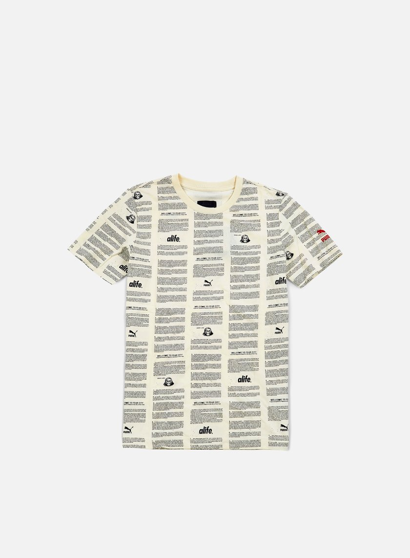 Puma - Alife Olympic Running T-shirt, Whisper White