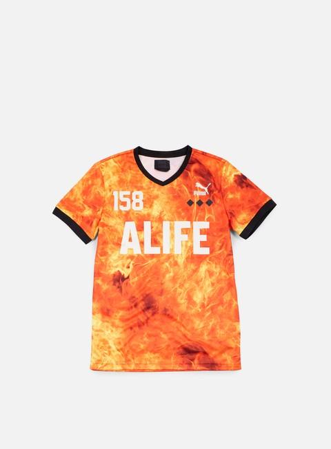 t shirt puma alife soccer t shirt grenadine